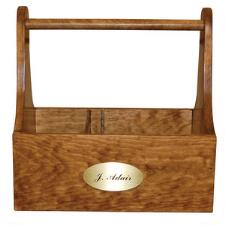 Wooden Tack Caddy Grooming Tote