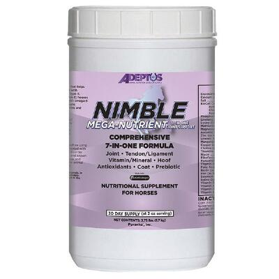 Adeptus Nimble Mega Nutrient 7-1  3.75 Pounds