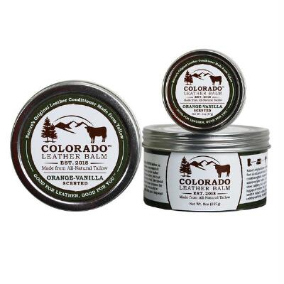Colorado Leather Balm Natural Leather Conditioner - Scented 2 oz