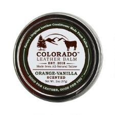 Colorado Leather Balm Natural Leather Conditioner - Scented 2 oz - TB