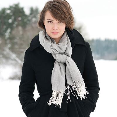Back On Track Ceramic Scarf Human - One Size