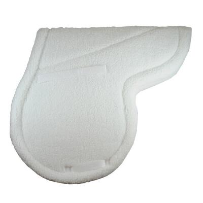 Shaped Fleece English Saddle Pad Pony Size