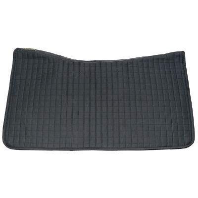 Ceramic Western Saddle Pad Black