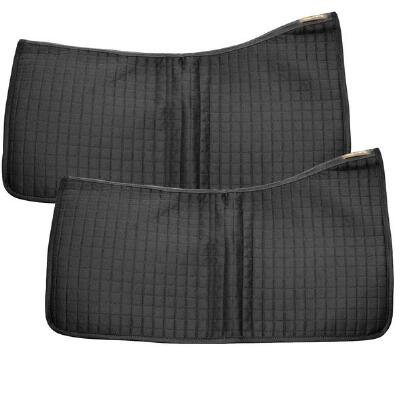 Ceramic Western Saddle Pad 2 Pack