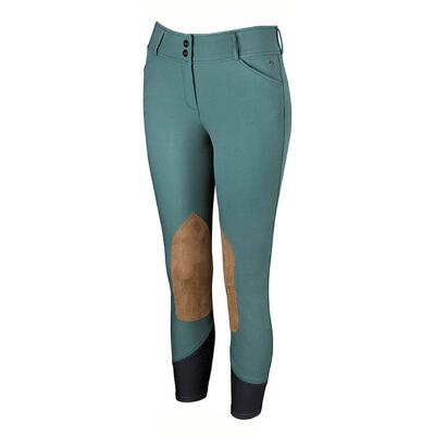 RJ Classics Mallard Green Gulf Knee Patch Ladies Breech