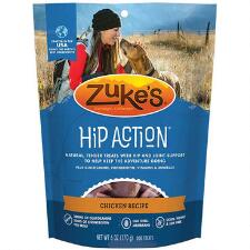 Zukes Hip Action Dog Treat 1lb - TB