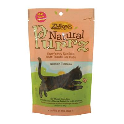 Zukes Natural Purrz Salmon Cat Treat 3 Oz