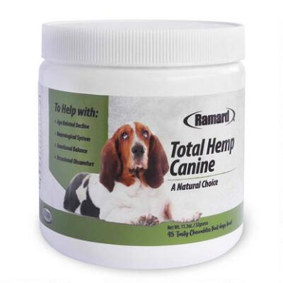Ramard Total Hemp Canine Soft Chews 45 Count