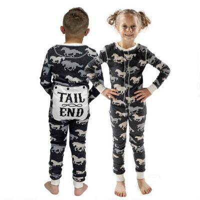 Lazy Ones Tail End Toddler Flapjack Pajamas