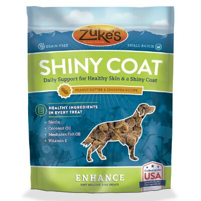 Zukes Enhance Coat Peanut Butter 5 oz