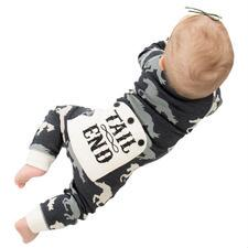 Lazy Ones Tail End Infant Flapjack Pajamas - TB