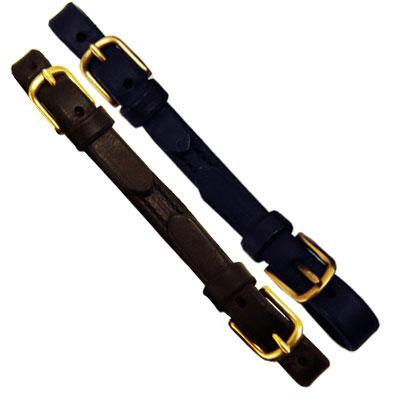 Curb Strap For Thoroughbred Bridle