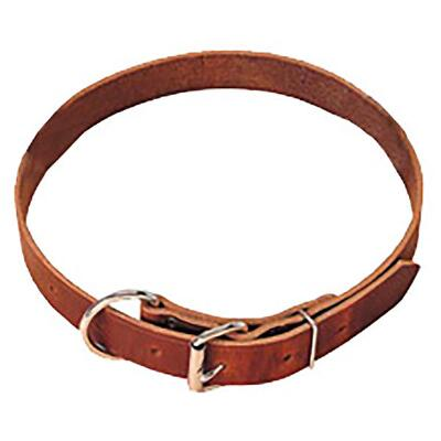 Neck Strap Harness Russet Brown Leather