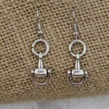 LILO Collections Half Bit Drop Earrings - TB