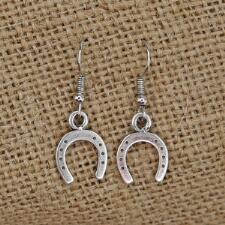 Lilo Collections Horse Shoe Drop Earrings - TB