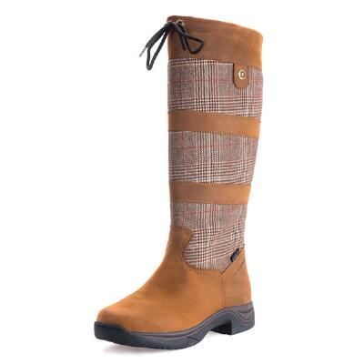 Dublin River Plaid Ladies Country Boot
