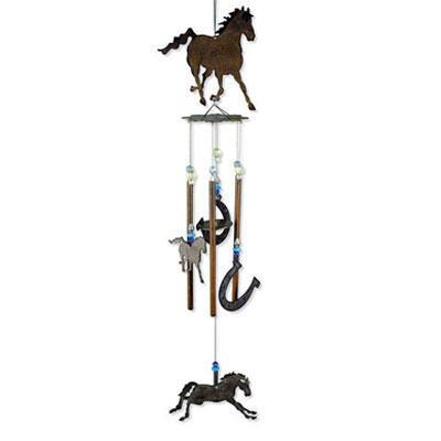 Horsing Around Wind Chime 28 inch