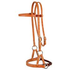 Schutz Collection D&S Collection Nose Side Pull Headstall - TB
