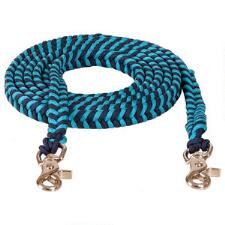 Mustang Braided Paracord Contest Barrel Rein - TB