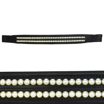 Vespucci Double Pearl Browband