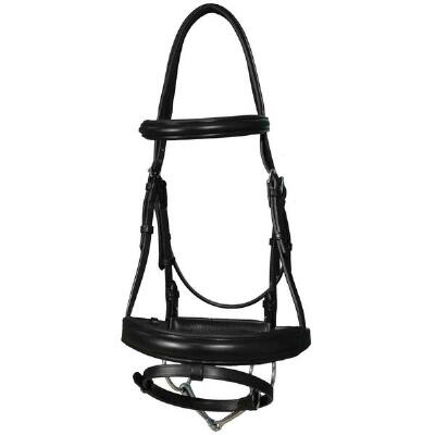 Vespucci Black Padded Dressage Bridle