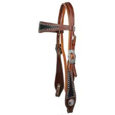 Big Country Tack Barton Browband Headstall - TB