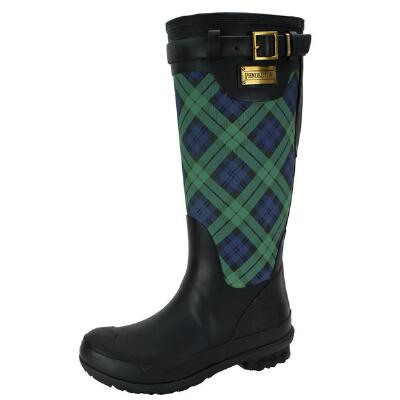 Pendleton Heritage Blackwatch Tall Rain Boots