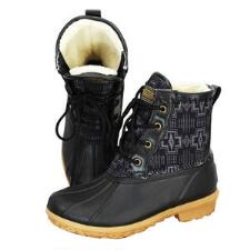 Pendleton Heritage Harding Black Ladies Duck Boot - TB