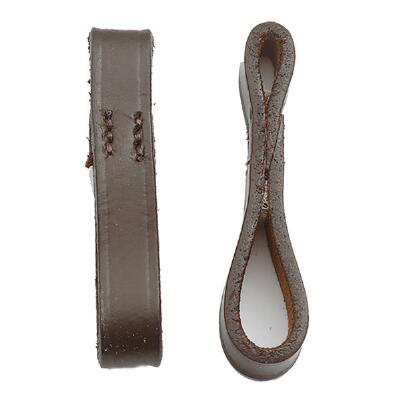 Bit Keepers Leather Pair Brown
