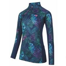 Aubrion Newbury Long Sleeve Ladies Quarter Zip - Tropical - TB