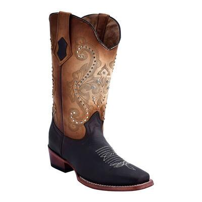 Ferrini Studded Cowgirl Ladies Western Boot