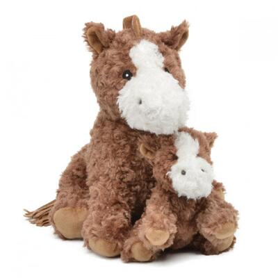 Coco Plush Horse with Baby - 13 in