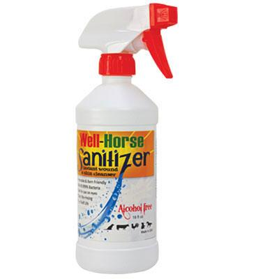 Well Horse Healing Wound Sanitizer 16oz