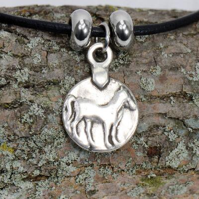 Lilo Horse Coin Necklace