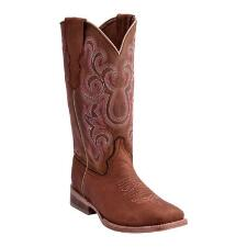 Ferrini Maverick Tan Ladies Western Boot - TB