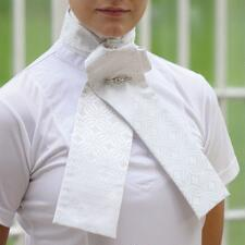 Shires Untied Brocade Stock Tie - TB