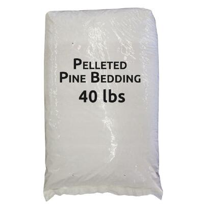 Pelleted Pine Bedding 40 Lb