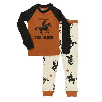 Lazy Ones YeeHaw Youth Pajama Set