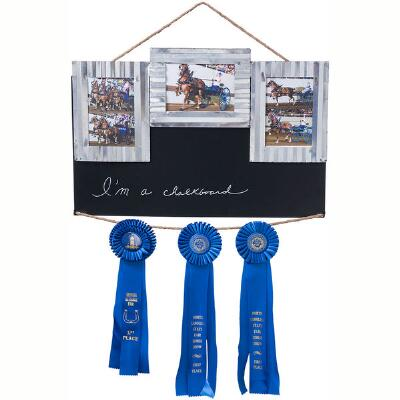 Chalkboard Three Frame Stall Sign