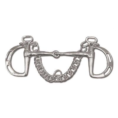 Kimberwick Uxeter Jointed Snaffle Mouth 5.5in