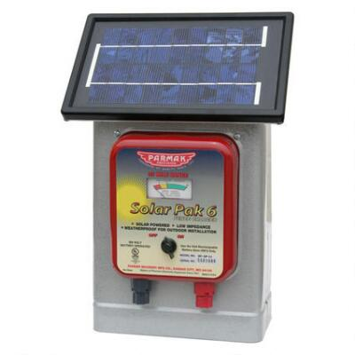 Parmak Deluxe Field Solar-Pak 6 Electric Fence Charger