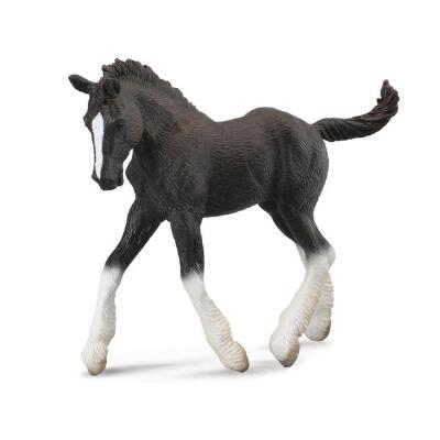 Breyer Corral Pals Black Shire Horse Foal