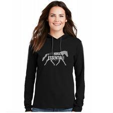 My Horse is Essential Ladies Hoodie - TB