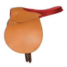 Lone Star Exercise Saddle Western Style Plain - TB