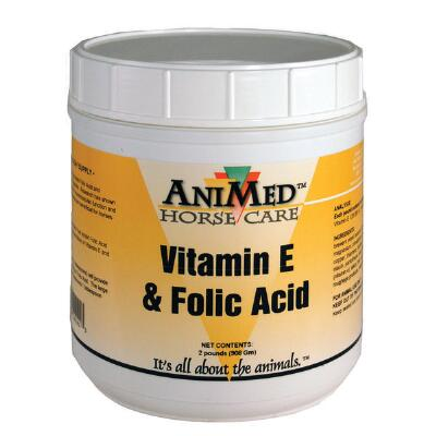 AniMed Folic Acid Vitamin E Supplement  2 lb