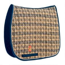 Baker Plaid Dressage Saddle Pad - TB