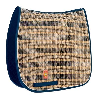 Baker Plaid Dressage Saddle Pad
