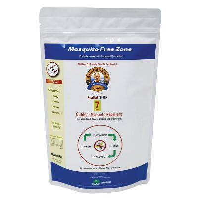 Terry Bradshaws 4 Ring Protection 7 Day Mosquito Free Zone