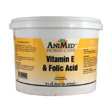 AniMed Folic Acid Vitamin E Supplement 5 lb - TB