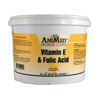 Folic Acid Vitamin E Supplement 5 lb